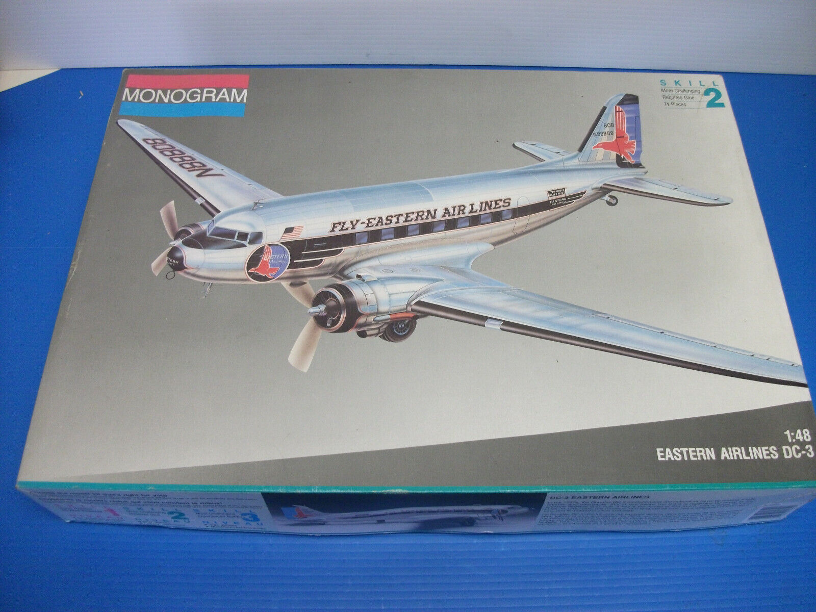 MONOGRAM EASTERN AIRLINES DC-3 1 48