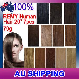 20-70g-7PCS-Clip-In-Remy-Real-Human-Hair-Extensions-100-Human-Hair-DIY