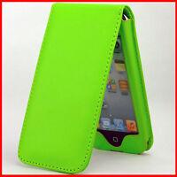 Tasche Für Ipod Touch 5 Tasche Hülle Flip Schutz Case Touch5 Pod Grün