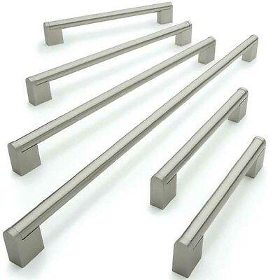 156mm - 476mm Boss Kitchen Cabinet Door Handles Stainless Steel - 14mm Bar