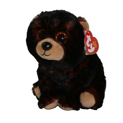 KODI the Black Bear 6 inch TY Beanie Baby - MWMTs Stuffed Toy