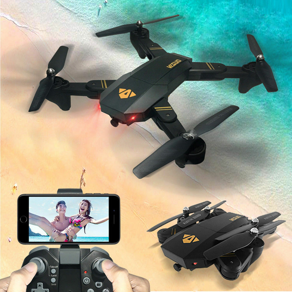 VISUO Quadcopter Drone With 2MP Full HD 1080p Wide-Angle Camera Wifi FPV UFO UAV