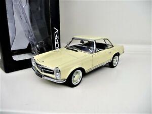 1-18-NOREV-Mercedes-230-SL-Pagode-Sondermodell-IAA-1963-Lmtd-Edition-NEU-NEW