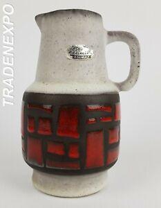 039-60s-039-70s-Vintage-BAY-KERAMIK-Vase-265-17-West-German-Pottery-Fat-Lava-Era-MCM