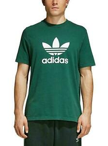 Details zu NEW Adidas Originals Trefoil Men's T Shirt Collegiate Green