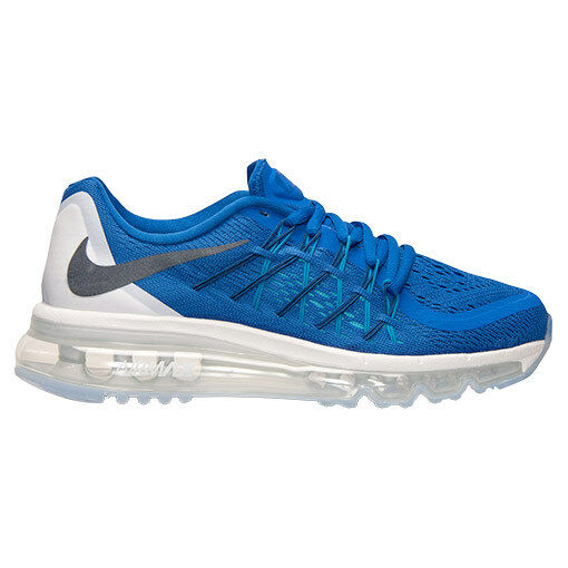 NIKE AIR MAX 2015 (GS) GAME ROYAL blueE-WHITE SZ 5.5 Y [705457-401]