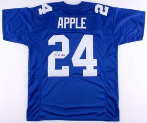 Details about Eli Apple Signed New York Giants Jersey (First Class)