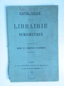 Catalogue-la-libreria-NUMISMATICA-guida-di-Assignats-Furgone-Peteghem-1886