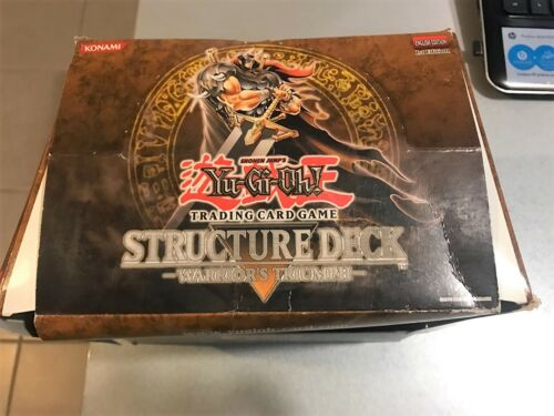 YU-GI-OH Warrior's Triumph Structure Deck NEW & SEALED 1st Edition English