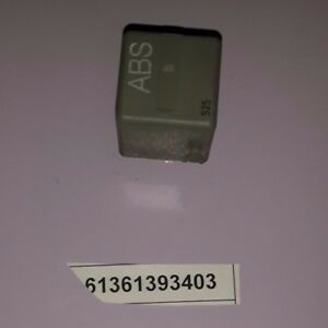 Details about NEW OEM BMW 61361393403 ABS motor relay, mausgrau