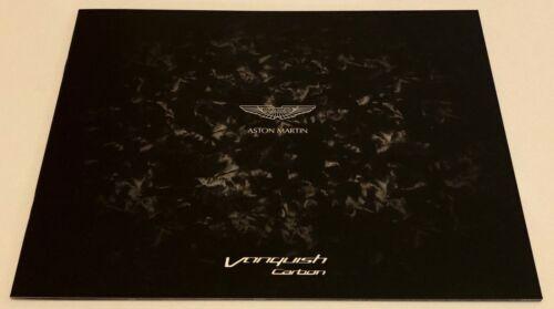 Aston Martin Vanquish Carbon Black Edition Brochure