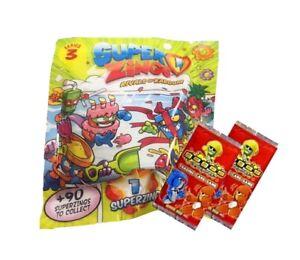 Superzings Series 3 Figure Pack ~ Rivals Of Kaboom Carte Superzing Plus 2 Gogo