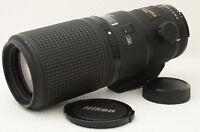 Nikon AF MICRO NIKKOR 200mm F4D ED Lens [Good] from Japan (06-J84)