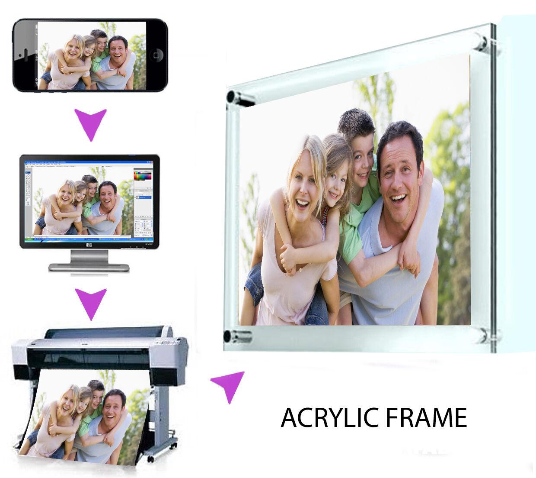 La tua foto su di un telaio acrilica A3 Trasparente Trasparente Trasparente Trasparente f5f1e0