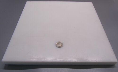 "2 Unit Polyethylene 3//4 Sheet White,.750 HDPE Thick x 12/"" Wide x 12/"" Length"