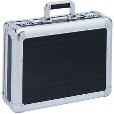 AKTENKOFFER Aluminium schwarz  Aluaktenkoffer Attache-Koffer Zahlenschloss XL