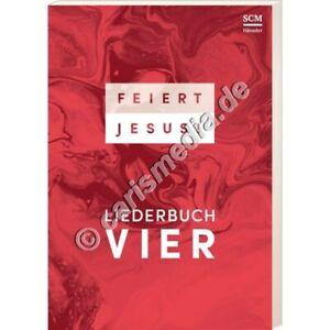 Liederbuch-FEIERT-JESUS-4-Texte-Noten-Griffe-Paperback-NEU-CM