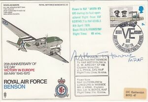 CC62e 50th anniversary of the Berlin Airlift RAF FDC signed Sir Freddie Laker