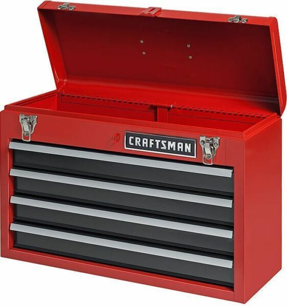 garage tool cabinets craftsman 4 drawer portable toolbox chest garage mechanic 15751