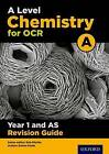 OCR A Level Chemistry A Year 1 Revision Guide by Emma Poole, Rob Ritchie (Paperback, 2017)