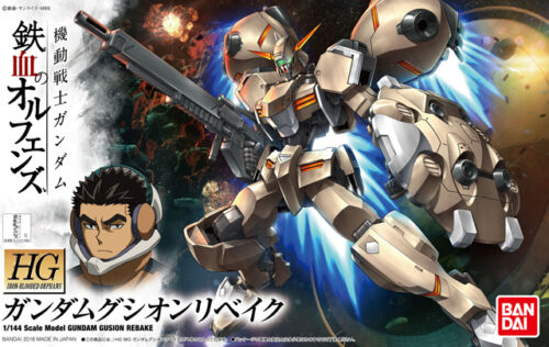 FROM JAPAN HG 1//144 Mobile Suit Gundam Iron-Blooded Orphan Gundam Gusion Re...