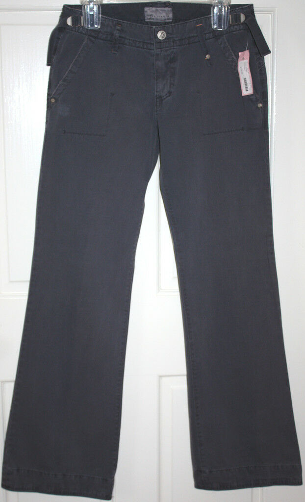 NWT damen  146 Sanctuary Navy Boyfriend Pants Größe Small