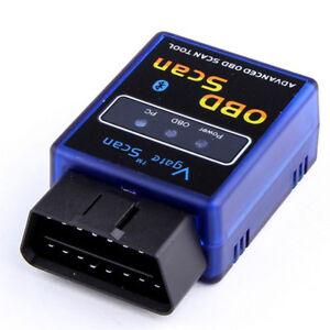 Vgate ELM327 OBD2 Bluetooth V1.5 Scanner Auto Car Diagnostic Adapter Scan Tools