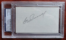Charlie Pasarell PSA/DNA Certified Index Card Autograph ATP Tennis Hall of Fame
