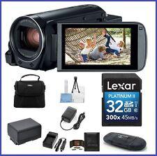 Canon VIXIA HF R800 HD Camcorder 32GB PRO Bundle [Black] Canon Authorized Dealer