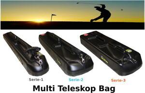 Teleskop-Golfbag-Koffer-Tasche-Trolley-Schutz-Golfschlaeger-Goftasche-Golfurlaub