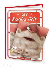 Brainbox Candy funny humorous 'DIY Santa Kit' christmas xmas card & face mat