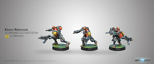 Infinity Mercenaries BNIB Krakot Renegades 280722