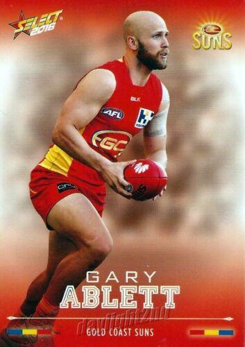 ✺Mint✺ 2016 GOLD COAST SUNS AFL Card GARY ABLETT