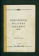 Continental Military Aircraft  1956 John Taylor Flugzeuge Militärflugzeuge