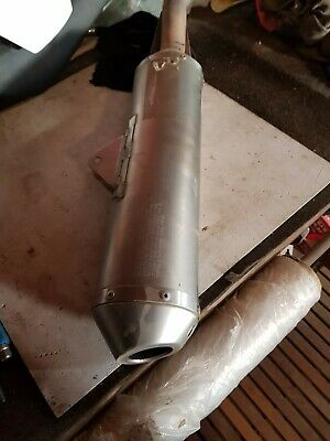 2Pcs Exhaust Spring Pipe Muffler 57mm For Husqvarna TE 310 2009-2012 2013 2014