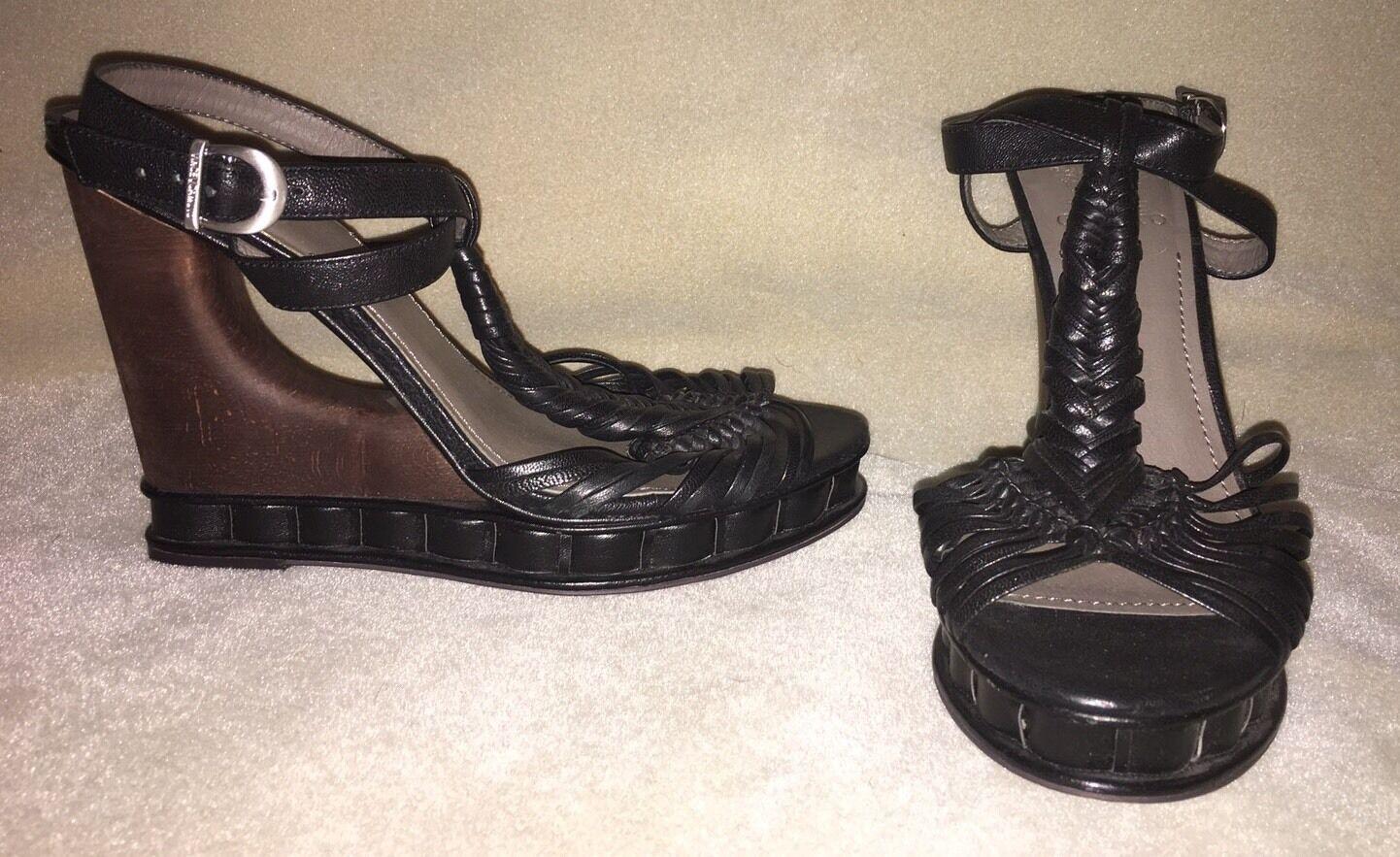 NEW Vince Camuto Dorian Wedge Wedge Wedge Sandals Sz 8 af78ac