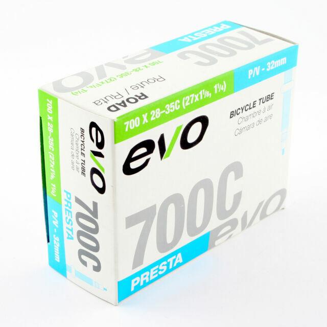 """EVO  26/"""" x 1.5--2.0/""""   48mm PRESTA VALVE BICYCLE INNER TUBE"""