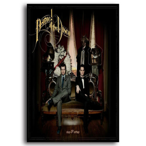 at the Disco Vices /& Virtues Album Music Cover Poster Wall Art H586 New Panic