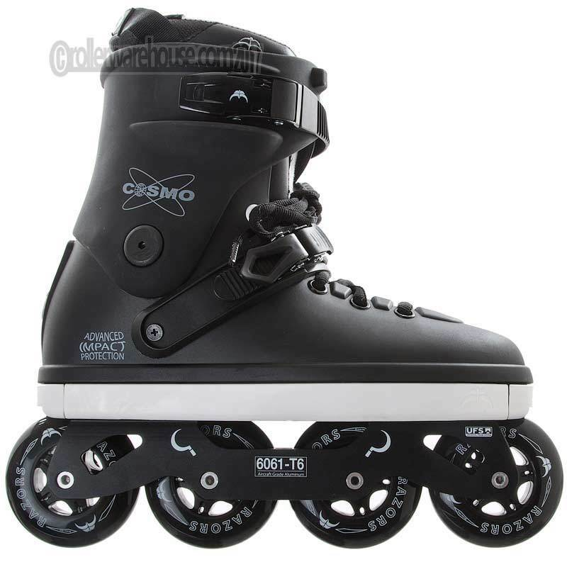 Razors Cosmo 80mm Freeskate Recreation Fitness Inline Skates  Herren 12.0 NEW