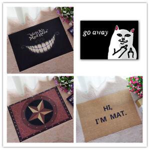 Cat-With-Middle-Finger-mat-doormat-Go-Away-Grumpy-Cat-Carpet-Entrance-Indoor