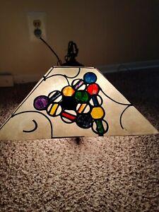 Vintage 1950s Or 1960s Pool Table Billiards Hanging Lamp Light Mancave Ebay