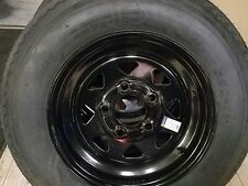 NEW 530X12  4 PLY HIGH SPEED TRAILER TIRE & WHEEL ASSEMBLY 5 HOLE- LOWEST $