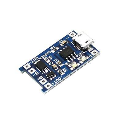 5PCS 5V Micro USB 1A 18650 Lithium Battery Charging Board Charger Module