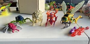 1996 Vintage Transformers Beast Wars Deluxe and Basic Lot (5) Buzz Saw Tigatron