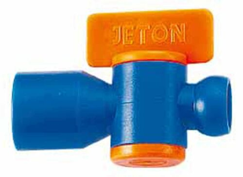 "82724A Flex Coolant Hose pack of 2 JETON 1//4/"" Female NPT Valve"