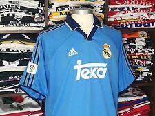 REAL MADRID third 2000/01 shirt Luís FIGO #10 - Portugal-Inter Milan-Jersey (L)