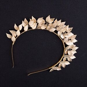 Headband-Gold-Leaves-Metal-Wedding-Hair-Band-Gold-Tiara-Melbourne-Cup-Race-Day