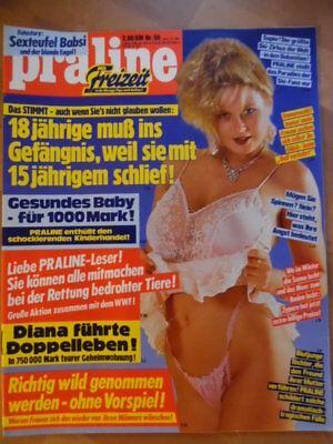 2019 Neuer Stil Praline 50 - 3.12. 1987 Caroline Sete Carmen Chevalier Alessandra Mussolini