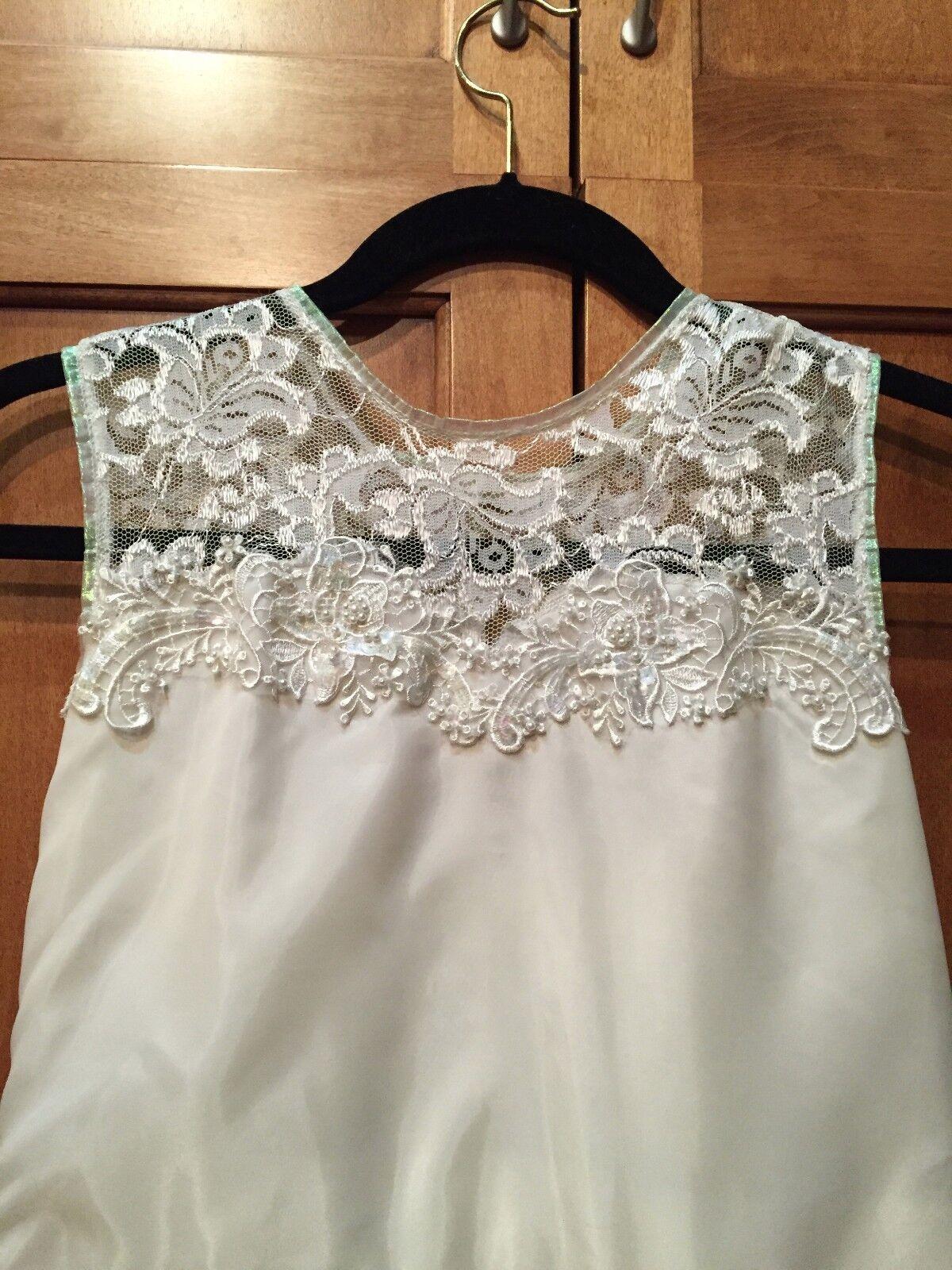 Vintage 60's Wedding Mini Dress - image 2