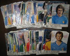LOTTO-160-FIGURINE-MUNDIAL-ESPANA-1982-Il-Giornalino-mondiali-calcio-RARE